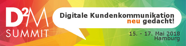 D2M SUMMIT 2017 - Fachkonferenz zum Content & Social Media Marketing sowie Customer Engagement & Service Management