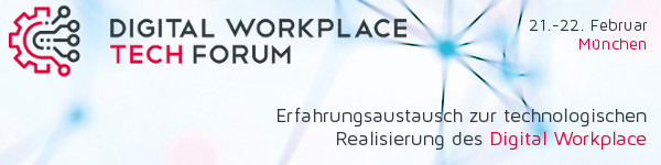 Digital Workplace Tech FORUM 2018