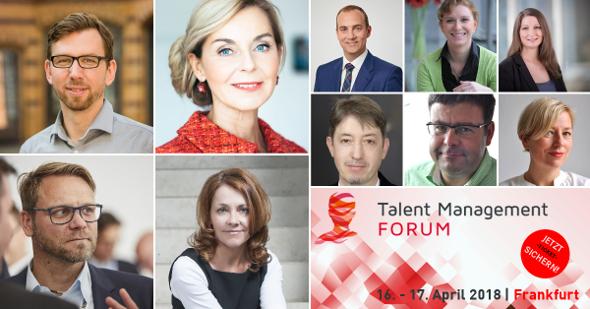 Spannende Referenten beim Talent Management FORUM