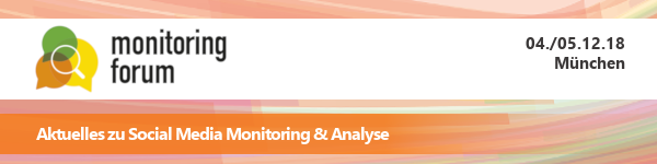 Monitoring FORUM 2018 - Newsletter