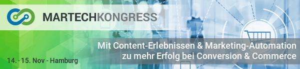 MarTech Kongress 2018 - Newsletter