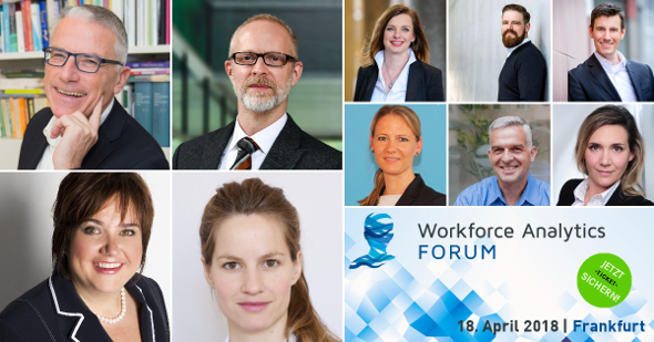 Spannende Referenten beim Workforce Analytics FORUM